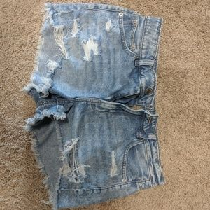 American eagle tomgirl Jean shorts